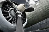 Fototapeta Samolotem - lotnictwo - Retro