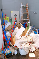 Cleaning mess