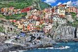 pictorial Italy series- Monarolla, Cinque terre