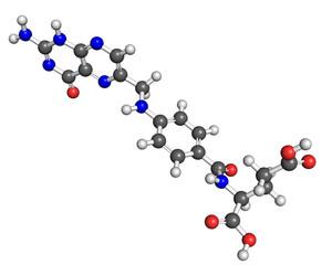 Vitamin B9 molecule