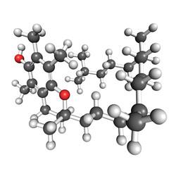 Vitamin E molecule