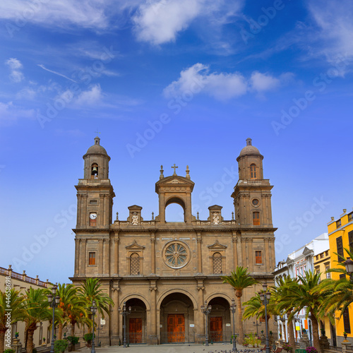 Cathedral of Santa Ana in Gran Canaria
