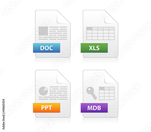 Icons for file extensions