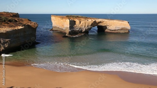 London Bridge along Great Ocean Drive of Australia