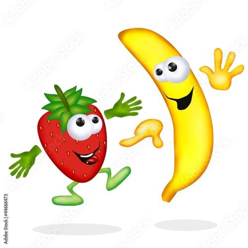 fragola e banana