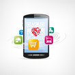 smartphone et applications internet