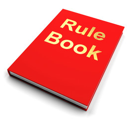 Rule Book Or Policy Guide Manual