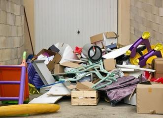 objets divers à jetter aprés déménagement