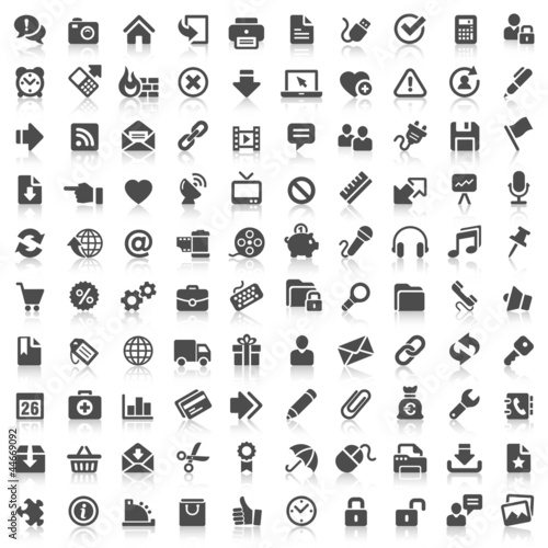 100 Website Icons