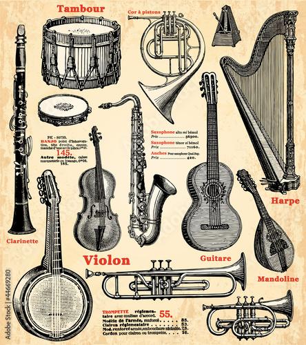 Instruments de musique - 44669280