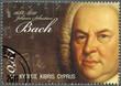 CYPRUS - 2011 : shows Johann Sebastian Bach (1685-1750)