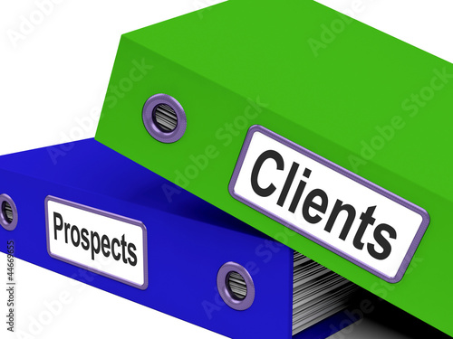 Clients And Prospects Files Shows Converting Leads