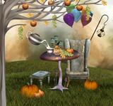 Fototapety Autumnal banquet