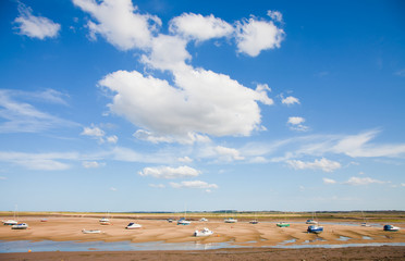 Wells-next-the-Sea, low tide