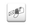 Boton cuadrado blanco simbolo buzon