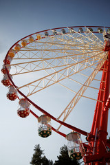 wheel in the park carnival