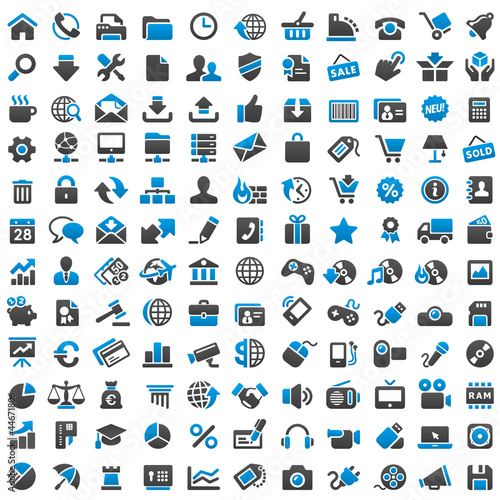 Zdjęcia na płótnie, fototapety, obrazy : 132 Icons