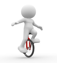 Unicycling