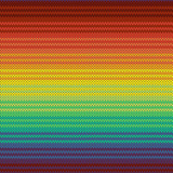 Knitted mexican blanket seamless pattern, vector