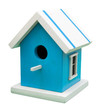 Birdhouse. Clipping path included.