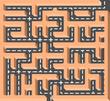 Road labyrinth
