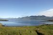Summer landscape in Iceland.