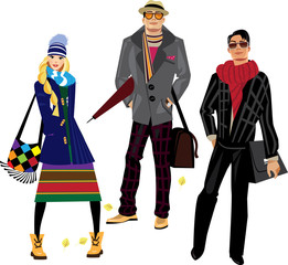 fashion men and woman