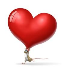 topo cuore