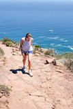 Woman hiking On Lions Head