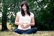 Portrait of Happy Pregnant Woman