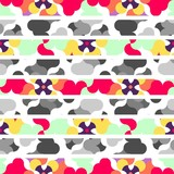 Abstract seamless pattern (vector version)