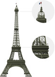 Vector Detailled Eiffel Tower (1889)