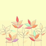 Floral background (vector version)
