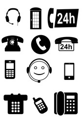 Telefonsymbole