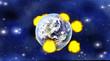 Meteoriten Einschlag