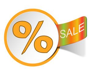 Label seasonal sale