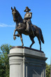 George Washington statue in Boston Common Park