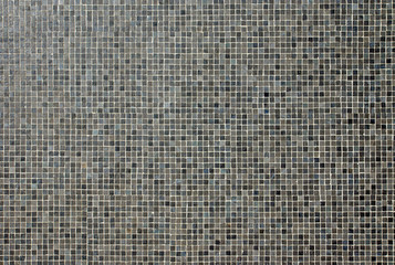 Dark mosaic tiles