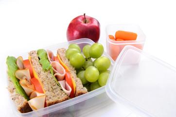 Well balanced lunch box