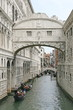 famous bridge of sighs in Venice