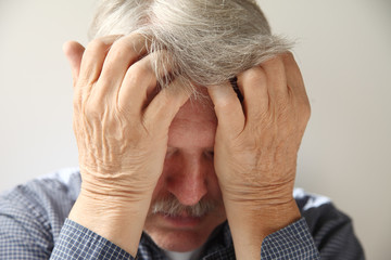 older man depressed