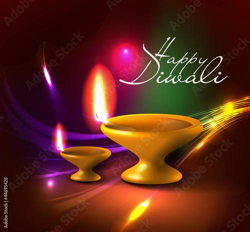 Diwali Deepak Logo