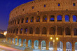 Night Colosseum view