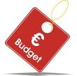 étiquette budget