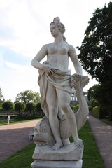Statue in the Catherine Park in Tsarskoe Selo (Pushkin)