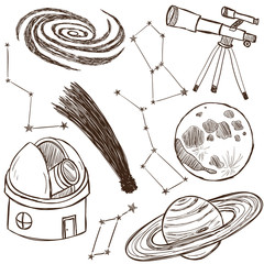 Set of astronomical objects