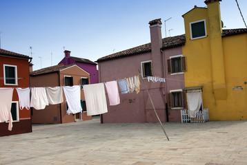 Burano square - Venice