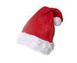 Nikolausmütze auf weißem Hintergrund