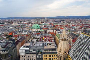 Top view, Vienna.