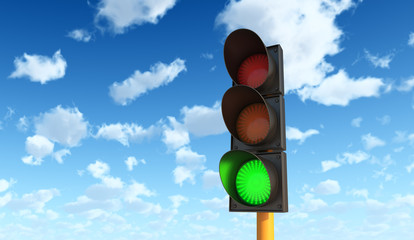 Green Traffic Lights